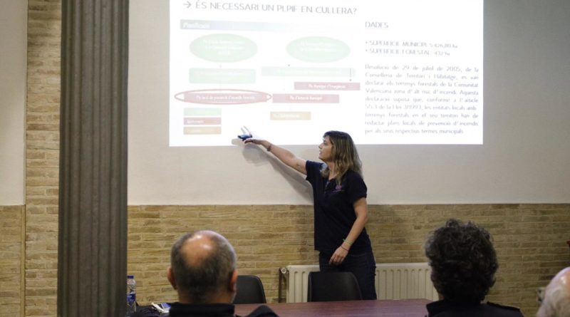 cullera presenta su plan local de prevencion de incendios forestales